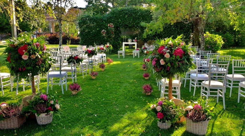 decoración bodas ourense