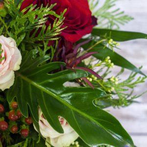 rs Caja rosas bicolor 2
